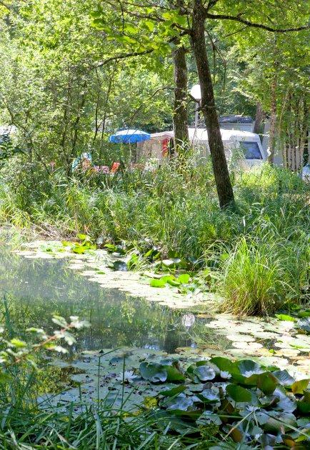 etang camping les 3 lacs