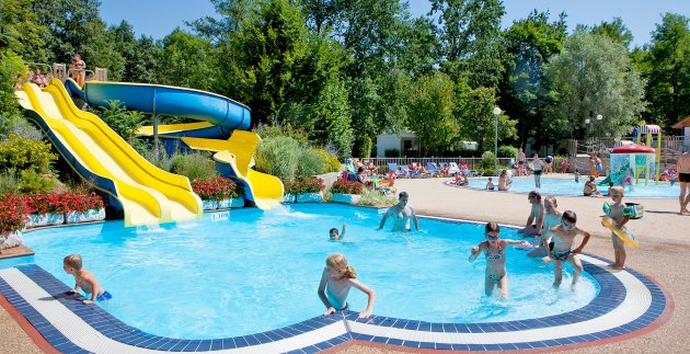 piscine toboogan camping les 3 lacs